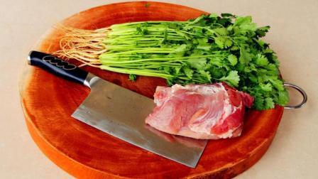 香菜新吃法, 不用调汁, 不凉拌, 1斤香菜不够我吃
