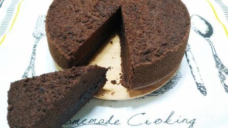 结束高考后, 来个可可粉蛋糕犒劳一下自己吧, 做法简单