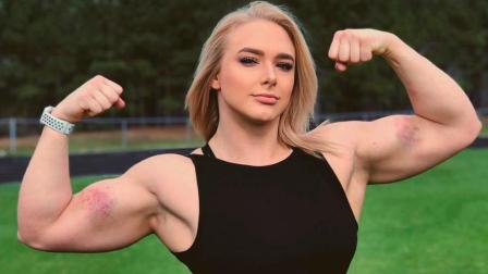 世界最强女大力士, 硬拉360斤, 这是要秒杀壮汉么?