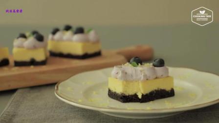 美食搬运: Cooking tree系列, 蓝莓柠檬起司蛋糕