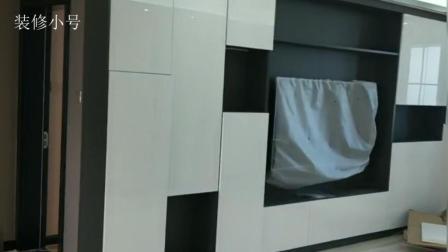 家居装修: 130平现场实拍案例, 多种设计元素综合运用, 打造唯美三居室