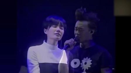 陈奕迅北京演唱会, 与王菲合唱对唱《因为爱情》太动听