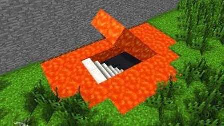 《我的世界》教你在岩浆下面建造一个红石宫殿, 下集