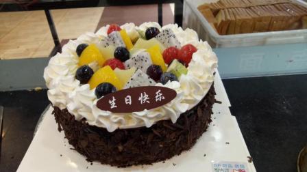 美味的水果蛋糕制作如此的简单五分钟就能轻松搞定!