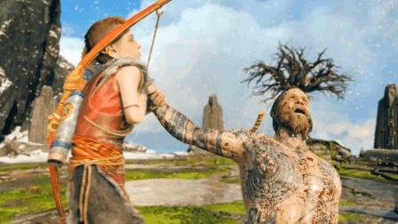 纯黑《战神4》最高难度无伤攻略解说 第九期