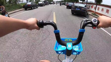 电动共享单车小蓝车