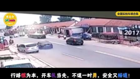 两车疯狂斗气别车3公里, 最终失控撞飞数人, 伤亡惨重!