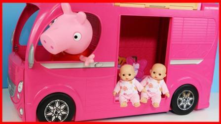 洋娃娃的芭比露营车玩具故事