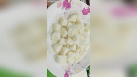 美拍视频: 椰蓉牛奶小方#美食#