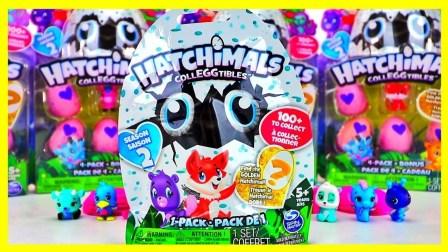 Hatchimals 惊喜的蛋 玩具鸡蛋和玩具动物