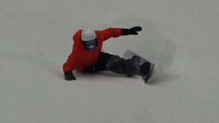 一鹤领滑万达茂室内滑雪馆初期体验