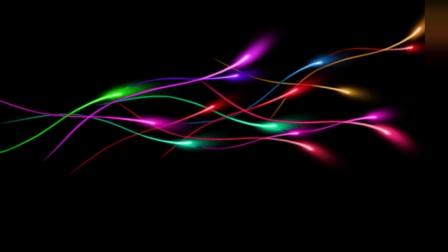 PS案例 炫光效果怎么做? 点进来10分钟教你打造炫酷的彩光壁纸!