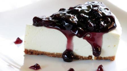 蛋糕最科学最好吃的做法, 手把手教你做蓝莓芝士蛋糕, 精确到克!