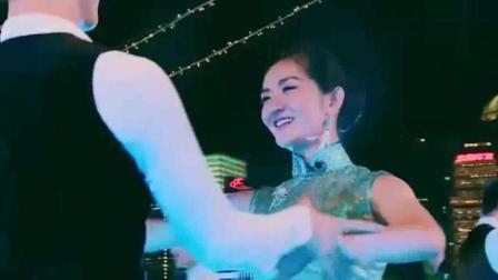 赵丽颖穿旗袍跳《夜上海》, 优雅的姿势太迷人了