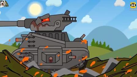 坦克世界搞笑动漫-虽然我很弱, 但是我有扳手啊!