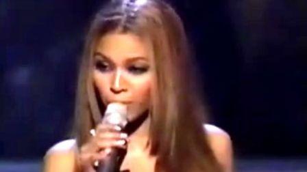 Beyonce在奥斯卡上的表演Believe