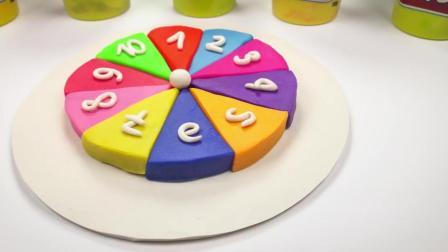 制作数字蛋糕拼盘