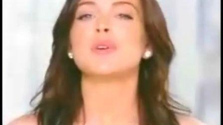林赛罗韩Lindsay Lohan 广告