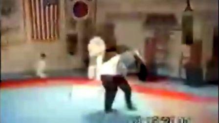 武术高手的表演视频