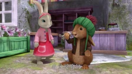 比得兔:用树叶画成羽毛的样子还给老布朗,他会更加生气的!