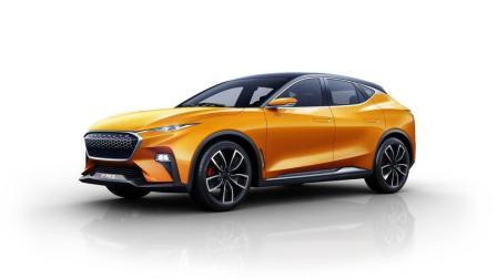 这国产车名叫哪吒汽车! 奔驰设计风格, 十万必定成为新一代泰山北斗