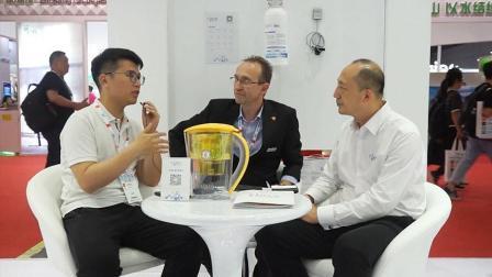 上海水展专访: 国际品牌ClaroSwiss为净水行业带来新科技