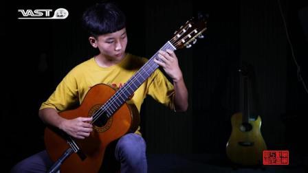 古典吉他独奏《A大调练习曲》by 欧阳腾达
