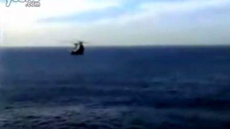 直升机落水