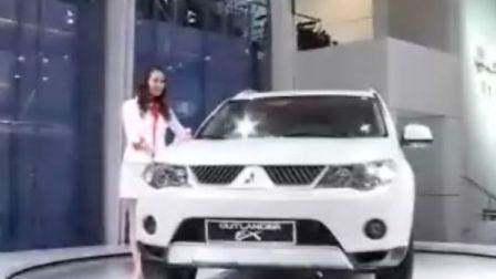 国际车展三菱汽车