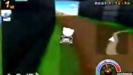 跑跑卡丁车 棉花糖SR森林发夹最快2分22秒