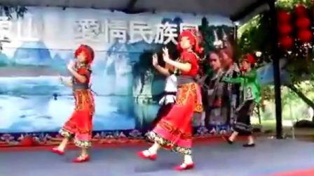 少数民族美女舞蹈