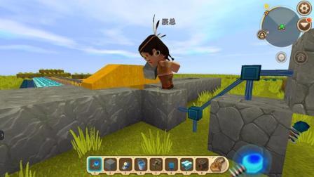 迷你世界: 小振收了个徒弟, 第一节课居然是学无限刷石器