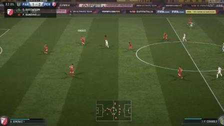 马赛回旋扣球到禁区    多次机会仍未进球