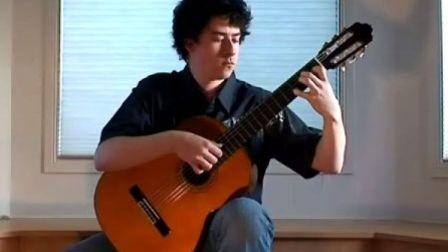Jesse (杰希) 演奏古典吉它曲(JESSE 的官方网站)