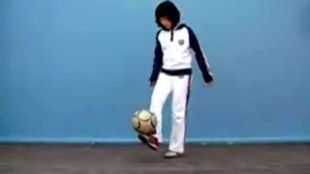 韩国美女足球爆强技巧现场版演示