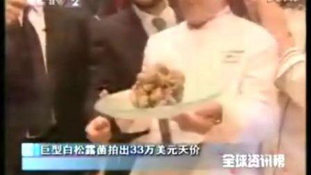 巨型白松露菌拍出33万美元天价