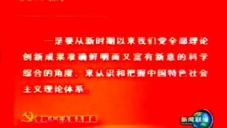 [党的十七大报告解读]中国特色社会主义理论