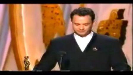 汤姆·汉克斯《阿甘正传》奥斯卡再封影帝,全场起立鼓掌的感人时刻!