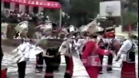 中国西部贵州黔东南剑河磻溪侗家古寨--化敖情岩恋歌节