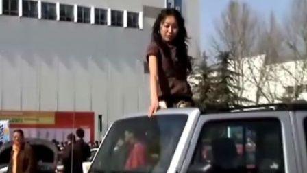 北京改装车美女车模