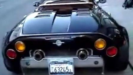 街头的世爵Spyker C8 Spyder