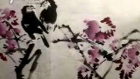 宋鲁民教你画紫藤八哥4