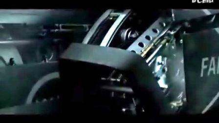 萨博汽车广告(飞机变汽车)