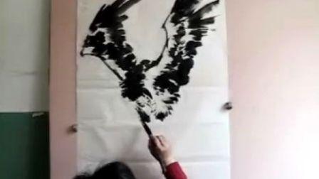 宋鲁民教你画飞鹰1