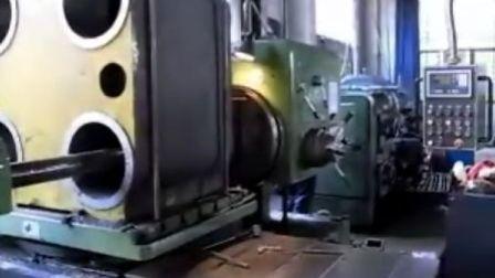 机身中座采用数控镗床加工