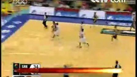 【7月31日】阿根廷75:60塞尔维亚【中国男篮争季军】