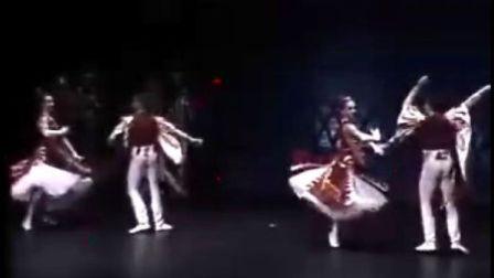 舞剧《天鹅湖》舞蹈《那波里舞》