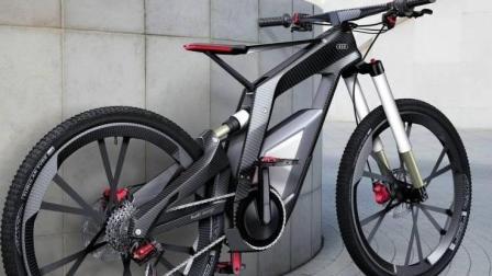 奥迪的自行车, 3000度高温都不怕, 没有它去不了的地方!