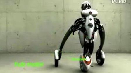 未来摩托车的样子,超酷!!