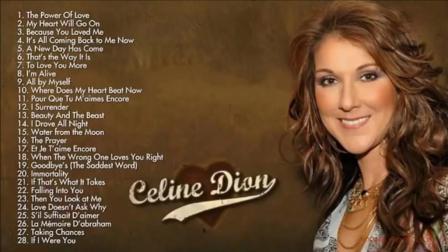 【怀旧经典】Celine Dion Greatest hits full album new 2017